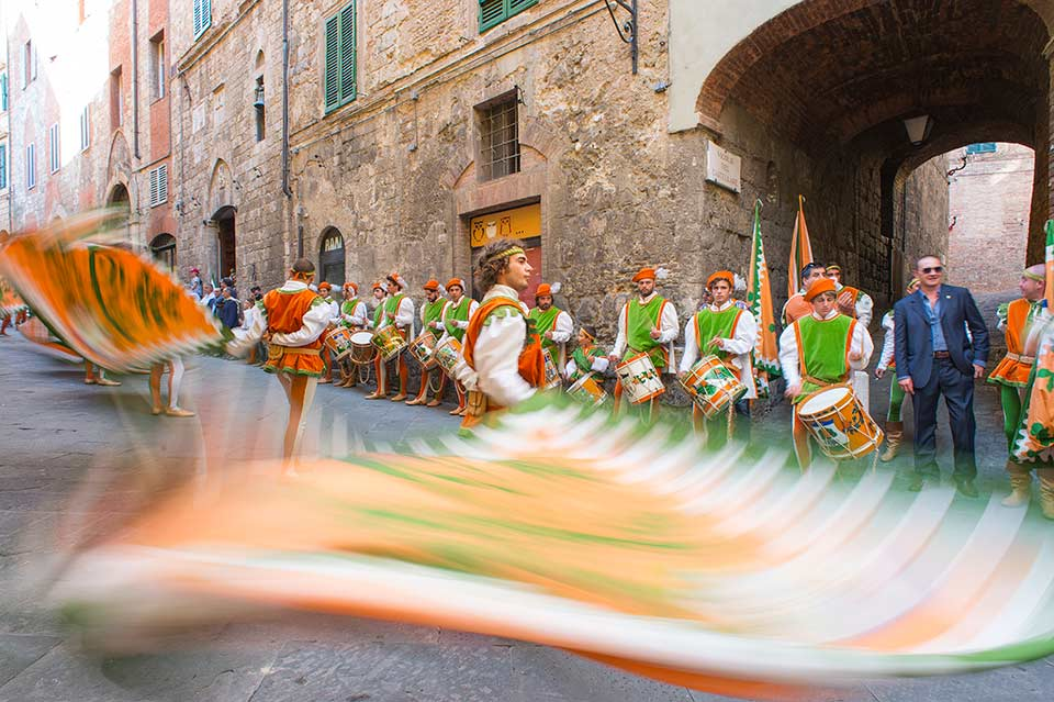 Flag Parade - Siena